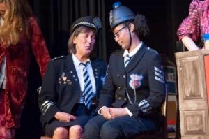 Chief Inspector Cressida Clit and PC Dixon